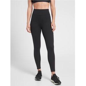 NWT Athleta Rainier Mesh Yoga Tight Solid Black
